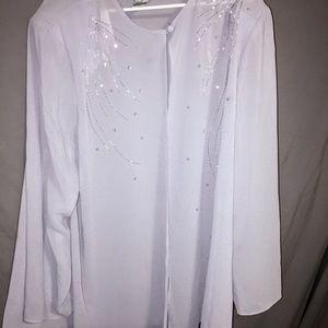 Sheer Patra Women Dress Shirt